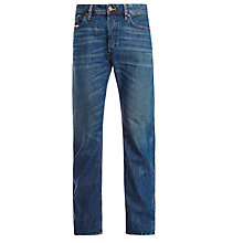 Buy Diesel Waykee 0833M Straight Jeans, Mid Wash Online at johnlewis.com