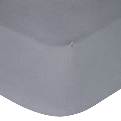 House by John Lewis Textured Fitted Sheet