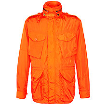 Buy Polo Ralph Lauren Lightweight Combat Jacket, Gator Orange Online at johnlewis.com