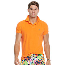 Buy Polo Ralph Lauren Custom Fit Terry Cloth Polo Shirt Online at johnlewis.com