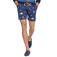 Buy Polo Ralph Lauren Montego Boat Print Chino Shorts Online at johnlewis.com