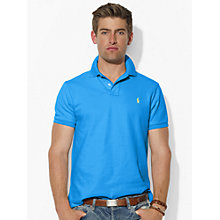 Buy Polo Ralph Lauren Custom Fit Mesh Polo Shirt Online at johnlewis.com