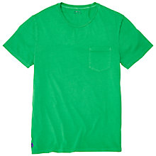 Buy Polo Ralph Lauren Cotton Pocket T-Shirt, Biscay Green Online at johnlewis.com