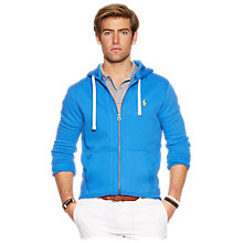 Buy Polo Ralph Lauren Full Zip Hoodie, Northport Blue Online at johnlewis.com
