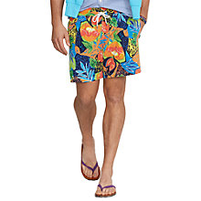 Buy Polo Ralph Lauren Floral Swim Shorts, Multi Online at johnlewis.com