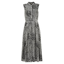 Buy Hobbs Sarah Dress, Black/Ivory Online at johnlewis.com