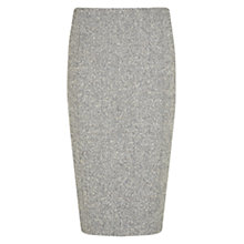 Buy Hobbs Quin Skirt, Grey Online at johnlewis.com