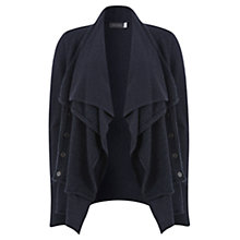 Buy Mint Velvet Double Layer Cardigan, Indigo Online at johnlewis.com