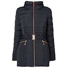 Buy Phase Eight Paula Puffer Jacket, Navy Online at johnlewis.com