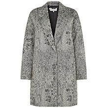 Buy Hobbs Persephone Coat, Multi Online at johnlewis.com