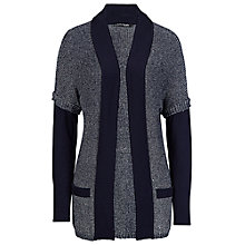 Buy Betty Barclay Tweed Effect Cardigan, Blue Online at johnlewis.com