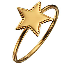 Buy Phoebe Coleman for John Lewis North Star Ring, Gold Online at johnlewis.com