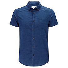 Buy John Lewis Short Sleeve Dobby Shirt Online at johnlewis.com