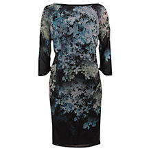 Buy Mint Velvet Ami Print Bodycon Dress, Black Online at johnlewis.com