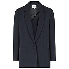 Buy Reiss Cyan Relaxed Tuxedo Blazer, Indigo Online at johnlewis.com