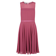 Buy Hobbs Invitation Abigale Dress, Dusk Pink Online at johnlewis.com