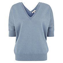 Buy Hobbs Invitation Sophie Jumper, Delphinium Blue Online at johnlewis.com