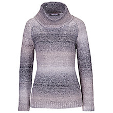 Buy Betty Barclay Chunky Polo Neck Jumper, Grey Online at johnlewis.com
