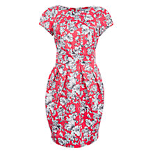 Buy Wolf & Whistle Drawn Floral Dress, Pink Online at johnlewis.com