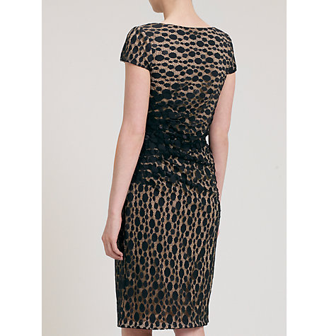 Buy Gina Bacconi Spot Lace Dress, Black Online at johnlewis.com