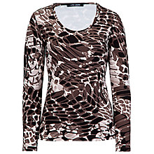 Buy Betty Barclay Stretch Pebble Print T-shirt, Multi Online at johnlewis.com