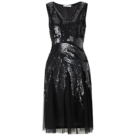 Buy Gina Bacconi Beaded Dress Online at johnlewis.com