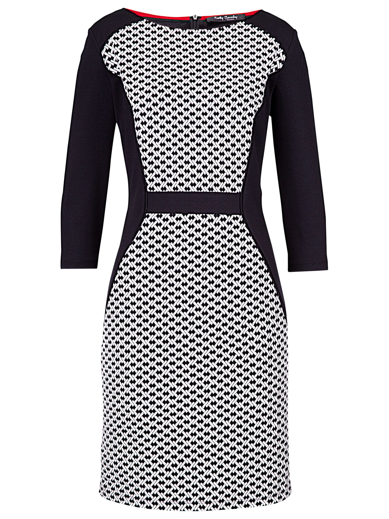 betty barclay three-quarter sleeve patterned dress black, betty, barclay, three-quarter, sleeve, patterned, dress, black, betty barclay, 22|14, clearance, womenswear offers, womens dresses offers, women, plus size, inactive womenswear, new reductions, womens dresses, special offers, 1613750