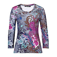 Buy Betty Barclay 3/4 Sleeve Floral T-shirt, Multi Online at johnlewis.com
