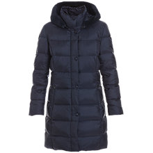 Buy Betty Barclay Polyamid Coat, Night Blue Online at johnlewis.com
