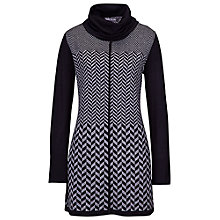 Buy Betty Barclay Herringbone Tunic Dress, Black / Grey Online at johnlewis.com