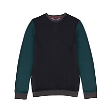 Buy Ted Baker Luxore Block Colour Jersey Top Online at johnlewis.com
