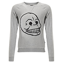 Buy Cheap Monday Neil Skull Sweater Online at johnlewis.com