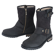 Buy Barbour Gixer Leather Quilted Calf Boots Online at johnlewis.com