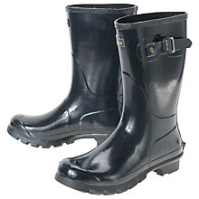 Buy Barbour Short Gloss Wellington Boots Online at johnlewis.com