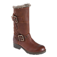 Buy Barbour Kickstart Leather Calf Boots Online at johnlewis.com