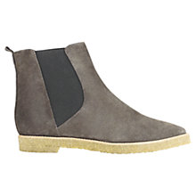 Buy Jigsaw Cleo Suede Ankle Boots, Grey Online at johnlewis.com