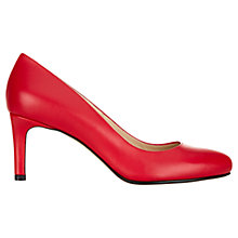 Buy Hobbs Lizzie Court Shoes, Rose Petal Online at johnlewis.com