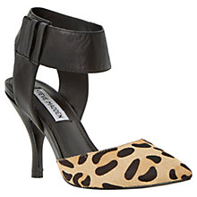 Buy Steve Madden Swift Leather Stiletto Heels, Pony Leopard Online at johnlewis.com