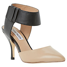 Buy Steve Madden Swiftsm Leather Stiletto Heels, Nude Online at johnlewis.com