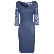 Buy True Decadence Lace Layer Midi Dress, Dark Teal Online at johnlewis.com