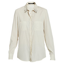 Buy Betty Barclay Modal Shirt, Light Almond Online at johnlewis.com