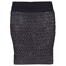 Buy Betty Barclay Hectagonal Print Skirt, Black Online at johnlewis.com