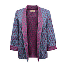 Buy East Cleo Reversible Jacket, Magenta Online at johnlewis.com
