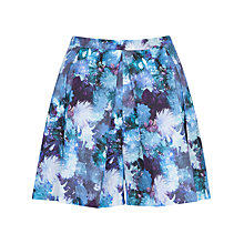 Buy Almari Print Pleat Skorts, Blue Online at johnlewis.com