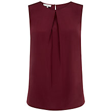 Buy Hobbs Eaton Silk Cami, Berry Online at johnlewis.com