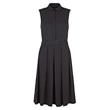 Buy Hobbs London Sarah Dress, Navy Nude Pink Online at johnlewis.com