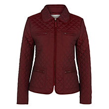 Buy Hobbs Molly Jacket, Berry Online at johnlewis.com