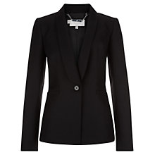 Buy Hobbs Wren Jacket, Black Online at johnlewis.com