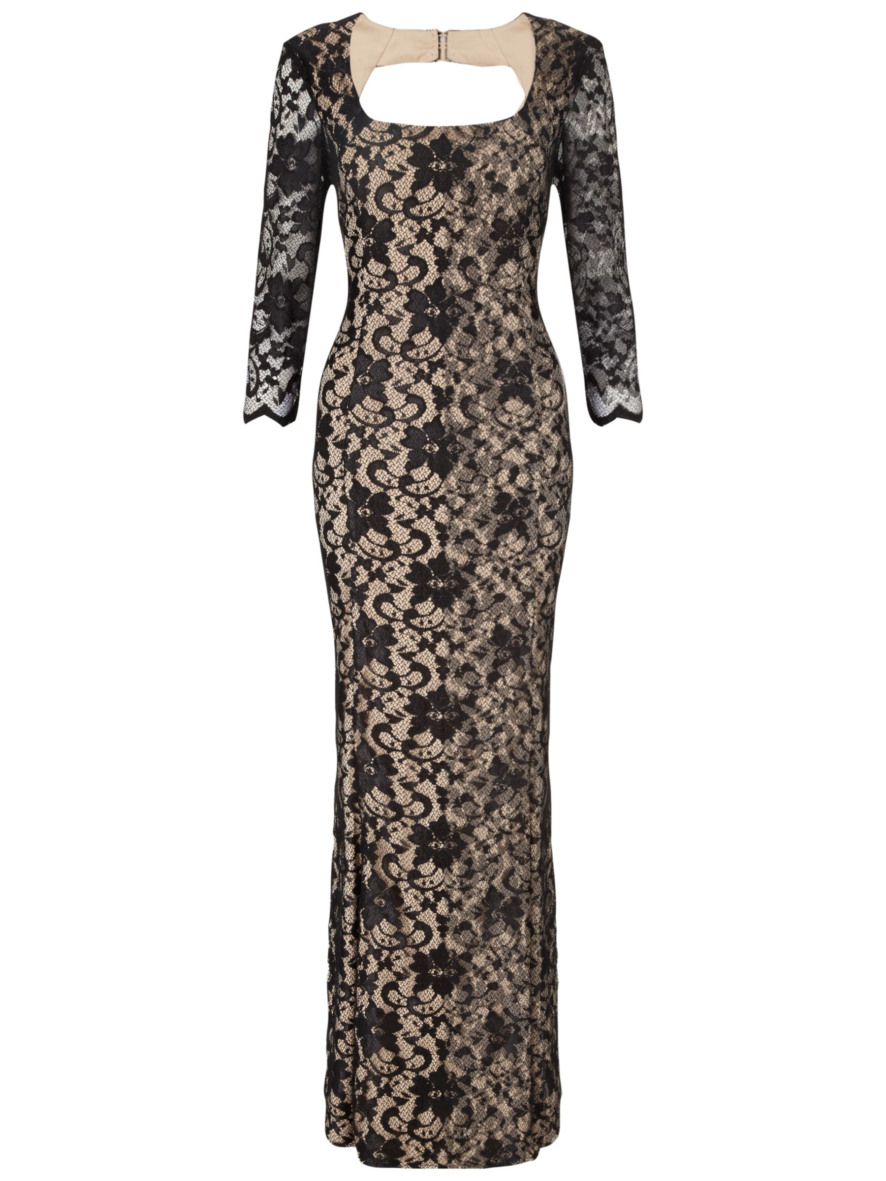 ariella natasha lace maxi dress black, ariella, natasha, lace, maxi, dress, black, 12 8 14 18 16, clearance, womenswear offers, womens dresses offers, new years party offers, women, plus size, inactive womenswear, new reductions, party outfits, lace dress, womens dresses, evening gowns, special offers, 1621507