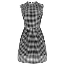Buy Oasis Clover Jacquard Dress, Multi Black Online at johnlewis.com
